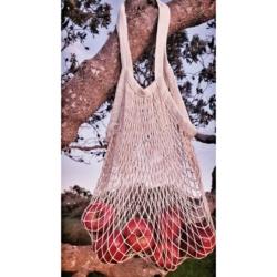 Cotton Mesh String Bag