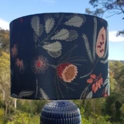 Australian Textiles Designer, Vanessa Holliday, Hand crafted lampshade