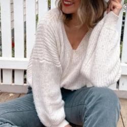 Blair Knit Jumper – Cream