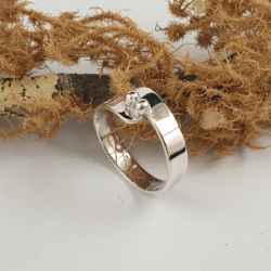 Sterling Silver Ring Wrapped