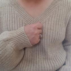 Blair Knit Jumper- Beige Tan
