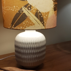 Hand crafted lampshade, created in Bermagui