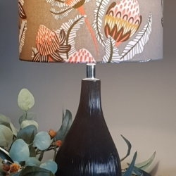 Hand crafted lampshade, Australian designer fabric – Lampsahde only
