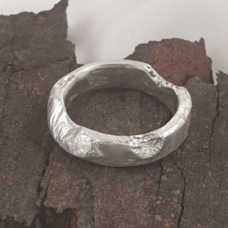 Sterling Silver Fusion Ring