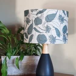 Femke Textiles, hand crafted lampshade