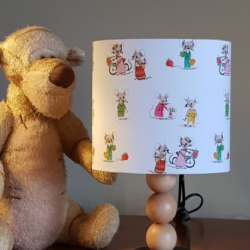 Hand crafted children's lampshade, created in Bermagui