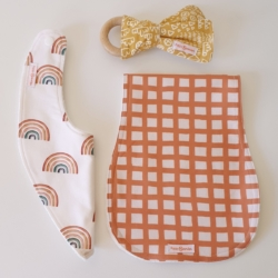 EARTHY RAINBOWS | NEWBORN PACK | NEW BABY GIFT | BABY ESSENTIALS