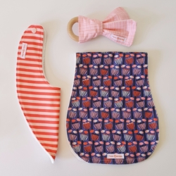 SCANDI FLORAL | NEWBORN PACK | NEW BABY GIFT | BABY ESSENTIALS