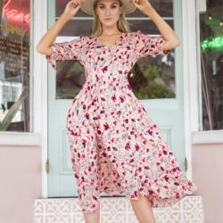 The Placid Midi Dress