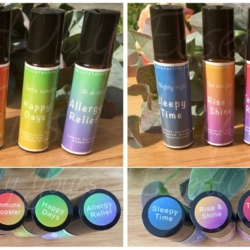 Bright Rollerblends with essential oils