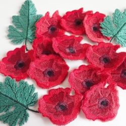Poppy Applique