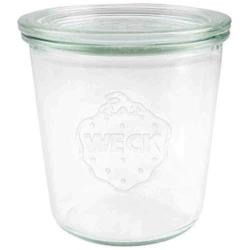 Weck Glass Jar with Glass Lid 580ml ~ 742