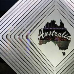 "Australiana Collection Wind Spinner – ""AUSTRALIA"" 20cm – Made in Australia"