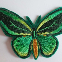Bird-wing Butterfly iron on patch