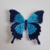Blue Ulysses Butterflies patches
