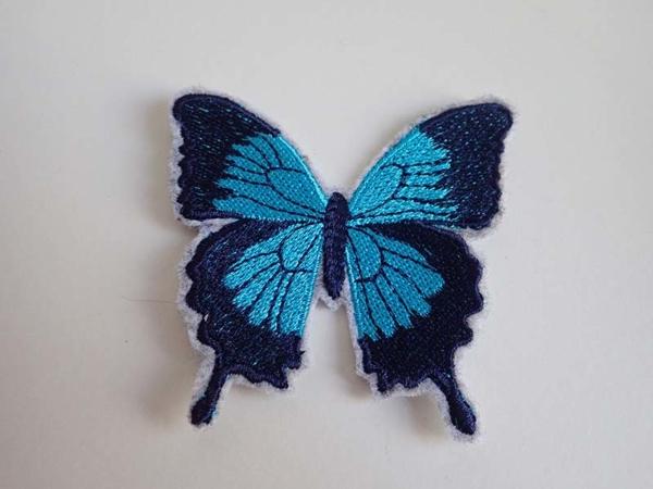 Blue Ulysses Butterflies patches