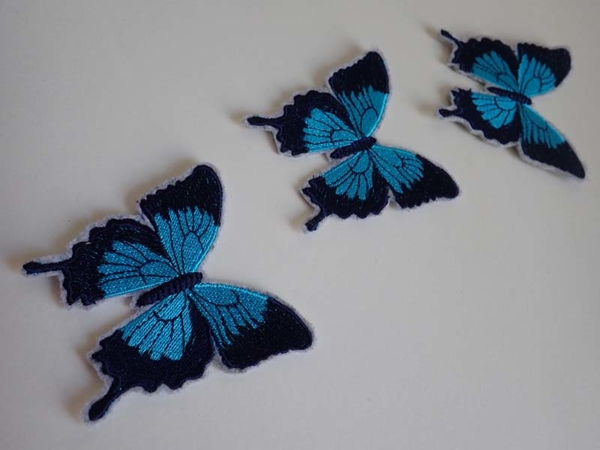 Blue Ulysses patches