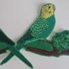 Bird iron on patch