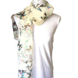 Butterfly Butterflies scarf – FREE POSTAGE – 14 other designs available in our store.