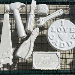 Father's Day plaster painting kids craft kit