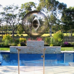 "Premium Collection Wind Spinner – ""CIRCLE"" 30cm – Made in Australia"