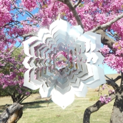 Designer Contempo Collection Wind Spinner – CRYSTAL MANDALA – 30cm