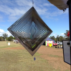 "Premium Collection Wind Spinner – ""DIAMOND"" 40cm – Made in Australia"