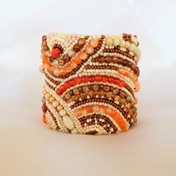 Beaded Bracelet Cuff