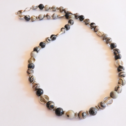 Jasper Gemstone Necklace for Men