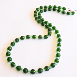 Green Necklace for Men