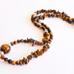 Tiger Eye Necklace for Men
