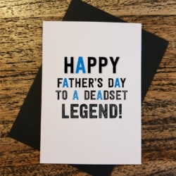 Legend Funny Father's Day Greeting Card