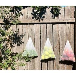 6 x Reusable rPET Mesh Produce Bags