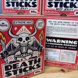 Death Sticks Beef Jerky