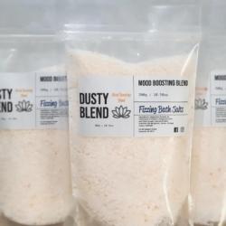 Fizzing Bath Salts – Mood Boosting