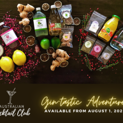 Gin-tastic Adventures Cocktail Box (Available 1-22 Aug, 2020)