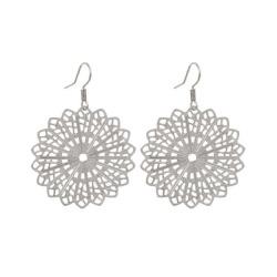 Silver filigree earrings – LAST PAIR – FREE POSTAGE