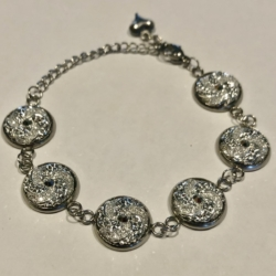 Sparkling Silver: Stainless Steel Bracelet (Set B)