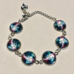 Galaxy : Stainless Steel Bracelet