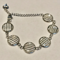 Stainless Steel Resin Bracelets