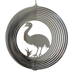 "Australiana Collection Wind Spinner – ""EMU"" 20cm – Made in Australia"