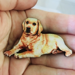 Cute Dog Brooches – 5 Breeds