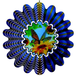 "Classic Collection Wind Spinner – ""HOLOGRAM BUTTERFLY"" 30cm – Made in Australia"