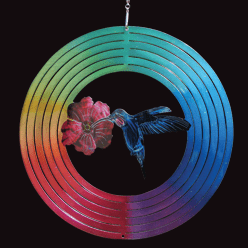 """Classic Collection Wind Spinner – """"MULTI HUMMINGBIRD"""" 30cm"""