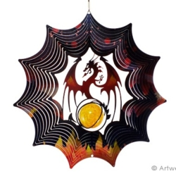 "Contempo Collection Wind Spinner – ""MYSTICAL DRAGON"" 30cm"