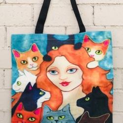 Tote Bag. Cat Lover