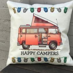 Cushion. Kombi camper