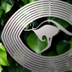 "Australiana Collection Wind Spinner – ""KANGAROO"" 20cm – Made in Australia"