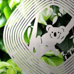 "Australiana Collection Wind Spinner – ""KOALA"" 20cm – Made in Australia"