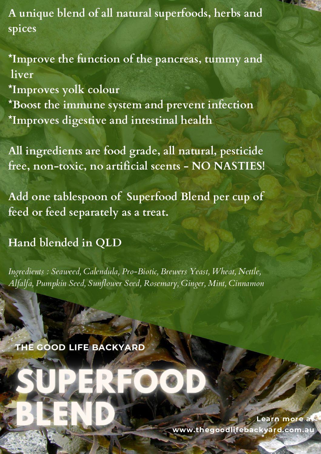 Superfood Blend – Chicken Health Supplement
